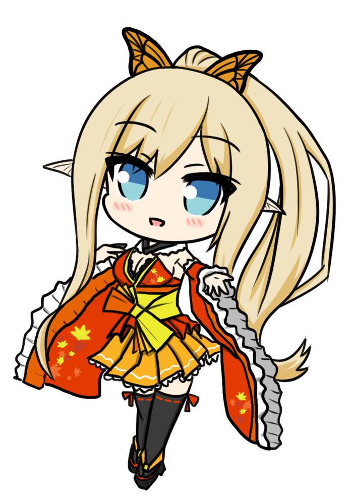 【シャイニングレゾナンス】キリカちゃん(紅葉の羽衣ver)
